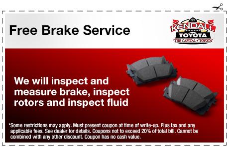 Free Brake Service