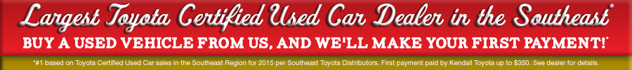 Toyota Certified Used Vehicles Miami FL