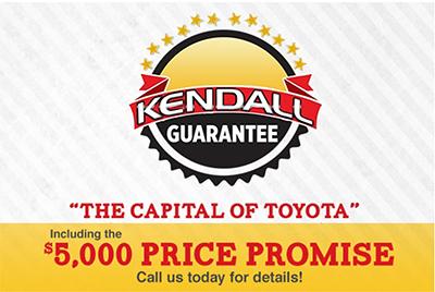 Kendall Toyota Guarantee
