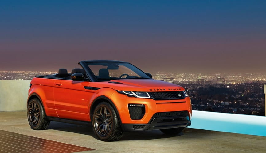 Range Rover Evoque Convertible coming to Fort Myers