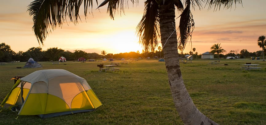 Camping in Florida