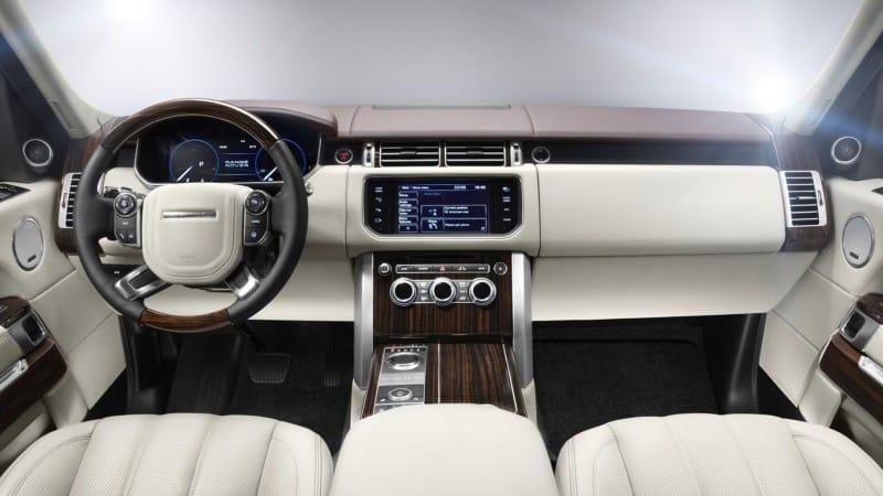 2016 Land Rover Range Rover Interior
