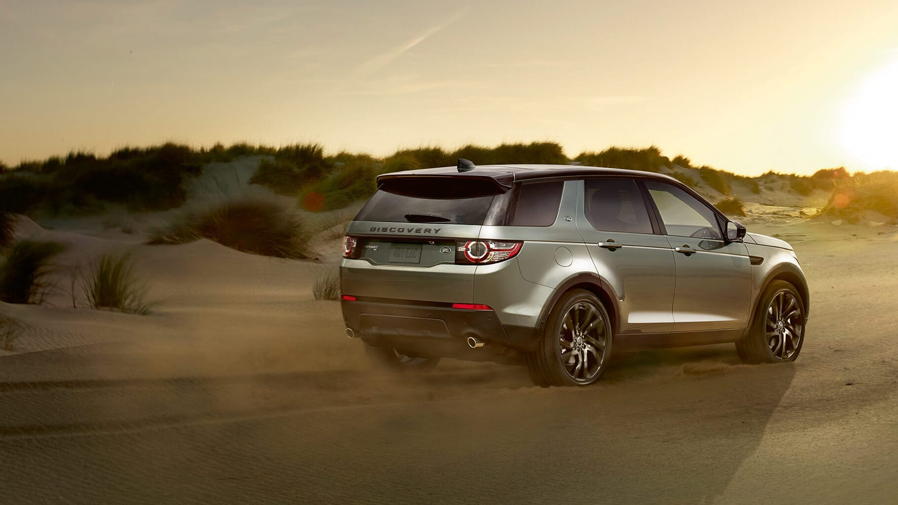 Explore the 2017 Land Rover Discovery Sport