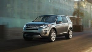 2016 Land Rover Discovery Sport driving