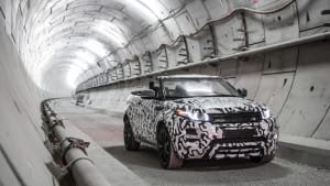 2017 Land Rover Evoque test drive