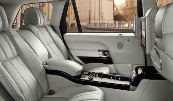 2016 Land Rover Range Rover rear seat entertainment