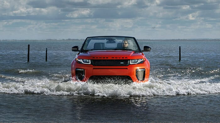 2017 Land Rover Envoque Converible performance