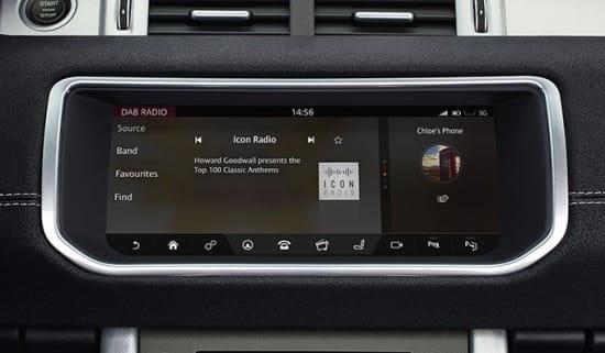 2017 Land Rover Evoque Coupe tech