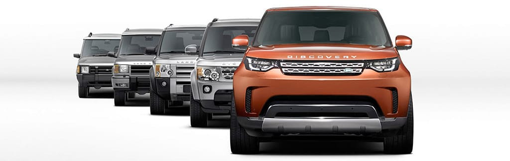 The Evolution of the Land Rover Discovery