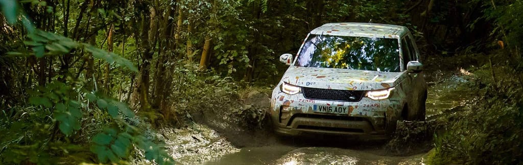 Off-Road Capabilities of the Land Rover Discovery