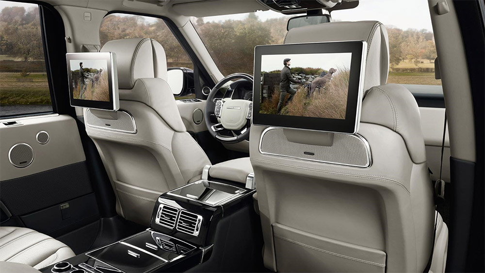 New Tech in the new Range Rover