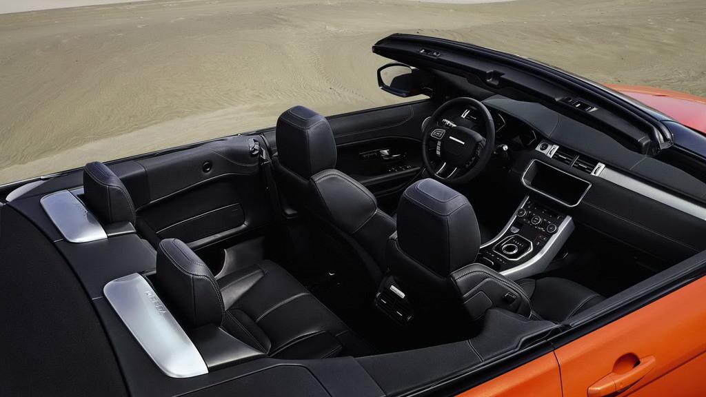 Range Rover Evoque Convertible Interior