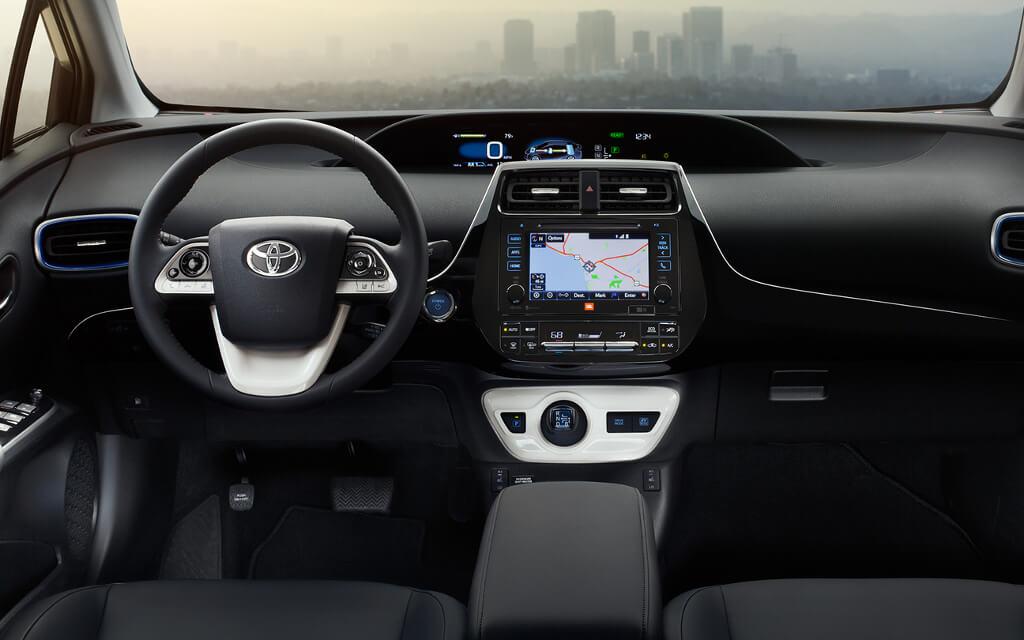 2016 Toyota Prius interior cabin
