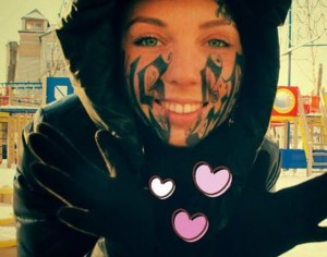 McCluskey Automotive Face Tattoo