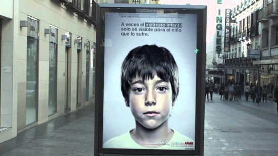 McCluskey Automotive Child Abuse Banner
