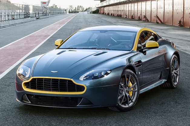One of the Aston Martin's to be unveiled at Geneva