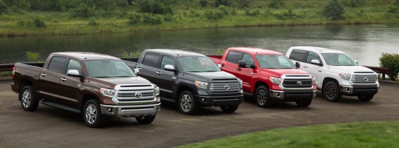 Toyota Tundra Lineup