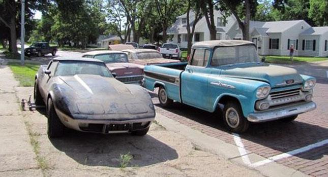 Former Chevrolet Dealership Found Frozen in Time ...