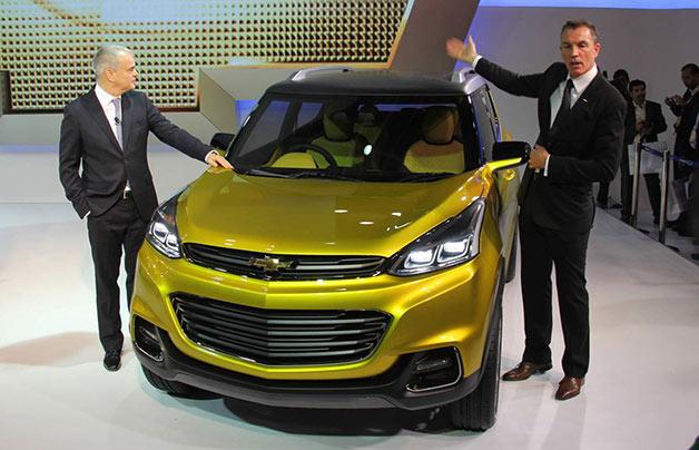 Chevy Adra Concept at the Delhi Auto Expo
