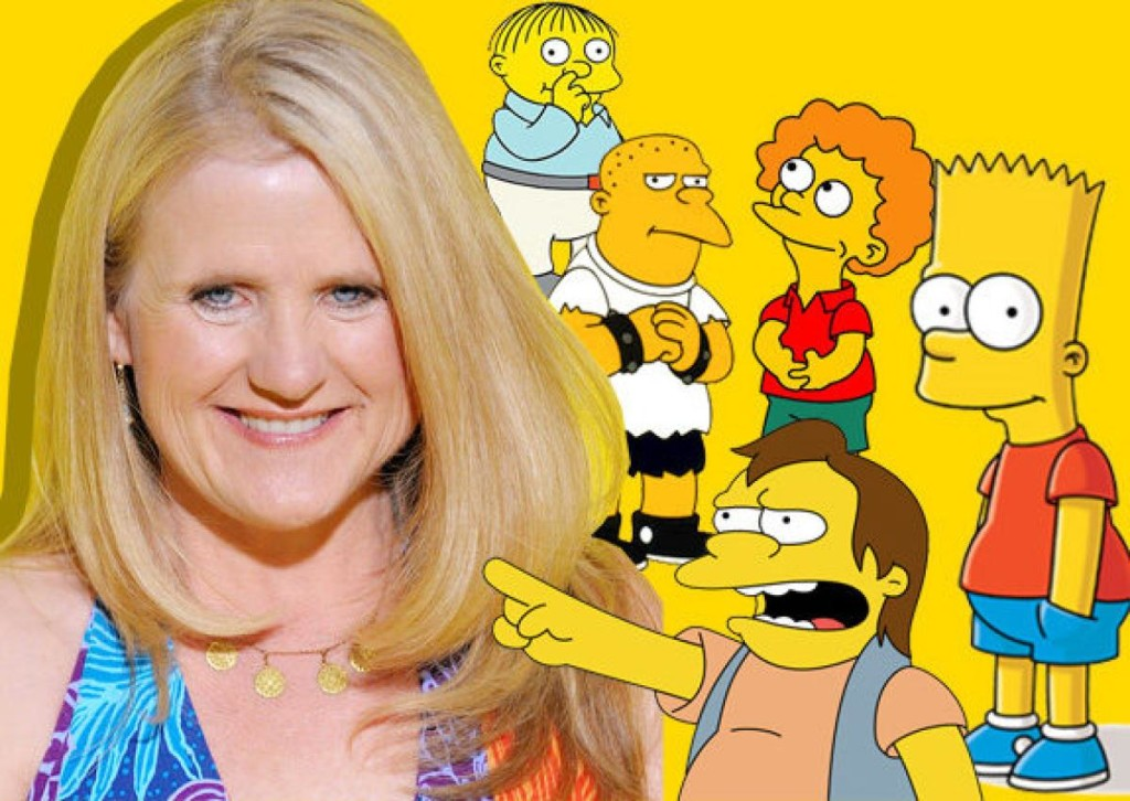 Nancy, the famous voice actor who has played countless characters including Bart Simpson