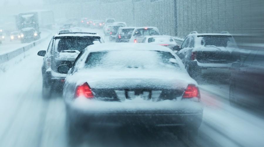 Cars in Snowstorm - Auto Repair Estimates