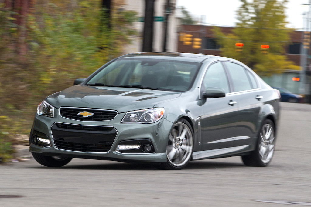 2014 chevy ss oil capacity