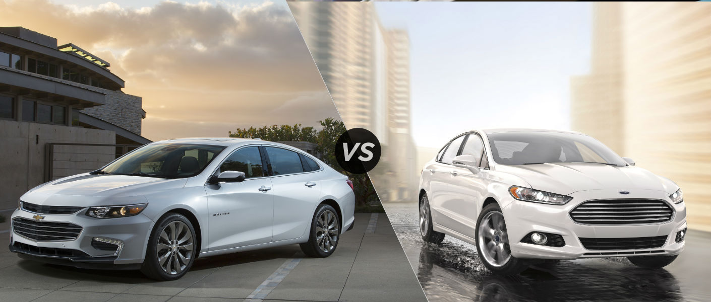 Top 2016 Malibu Highlights And Ford Fusion Comparison Mccluskey