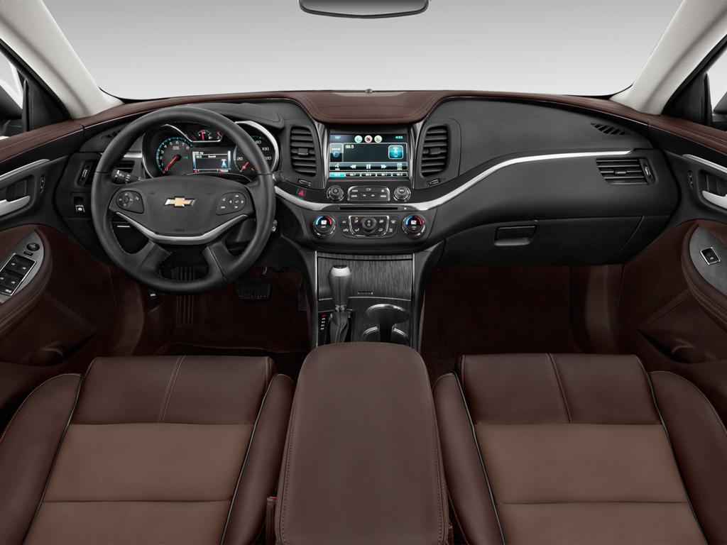 2016 Maxima Interior >> The 2016 Chevy Impala vs. the 2016 Nissan Maxima - McCluskey Chevrolet