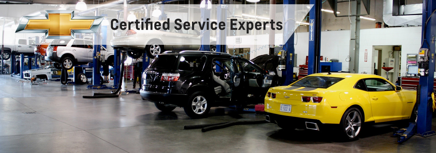 Welcome To The McCluskey Chevrolet Service Department