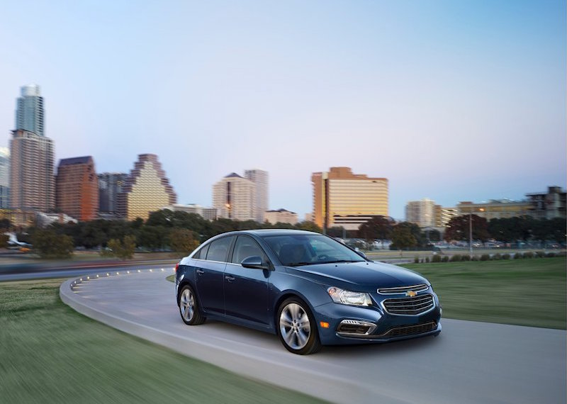 The 2016 Chevy Cruze.