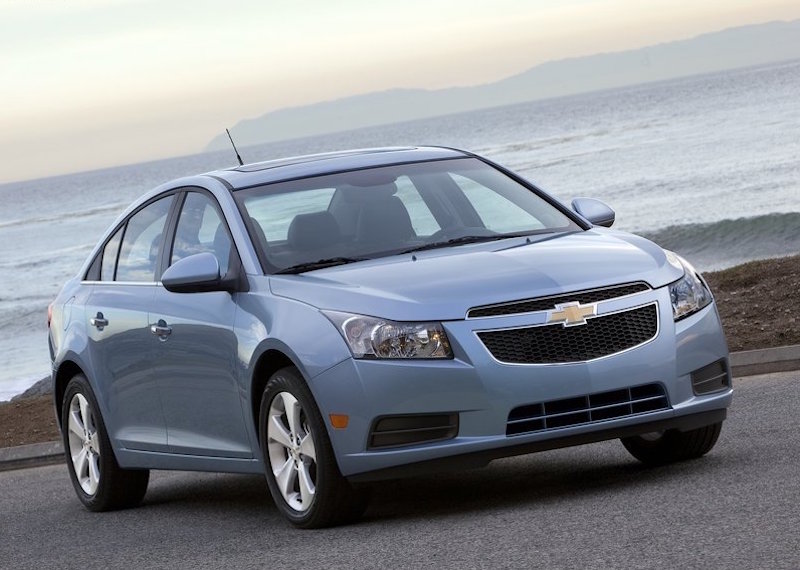 The 2011 Chevy Cruze.