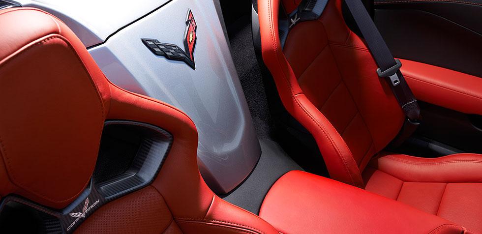2016 Chevy Corvette Stingray interior