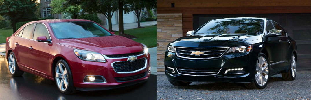 2015 Chevy Malibu Vs 2015 Chevy Impala