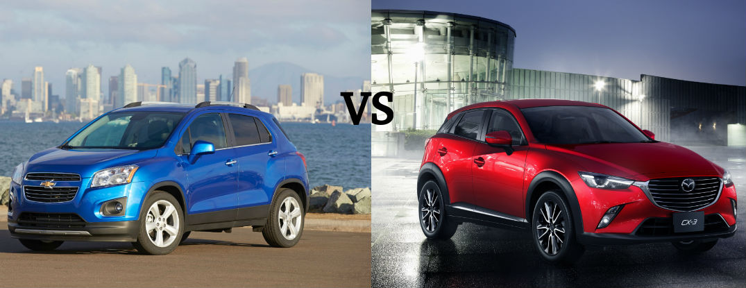 Chevy Trax Takes On New Compact Crossover Competitors At Mccluskey