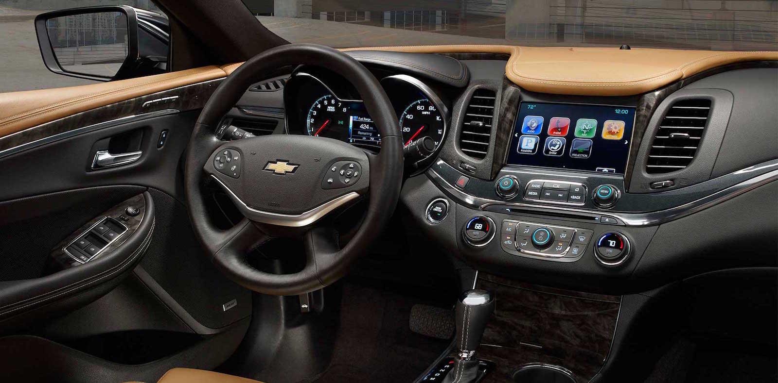 2016_Chevy_Impala_Tech_Dash