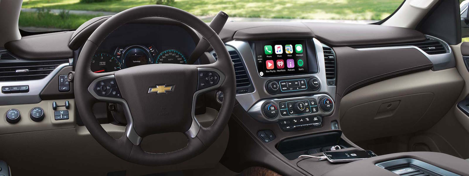 2016 Chevy Tahoe Technology