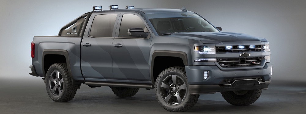 Chevy Pays Tribute To Special Forces With Silverado Special Ops