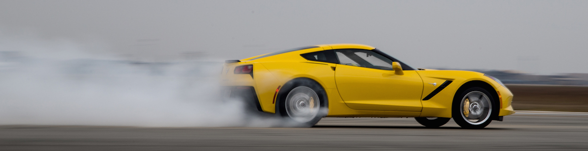 Burnout-Corvette