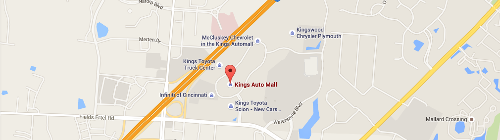Kings Auto Mall MAP
