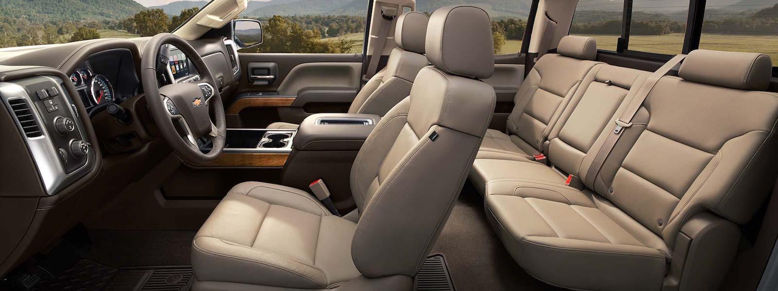 2016 Chevy Silverado 2500HD Safety