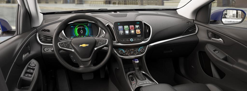 2017 Chevy Volt Cockpit