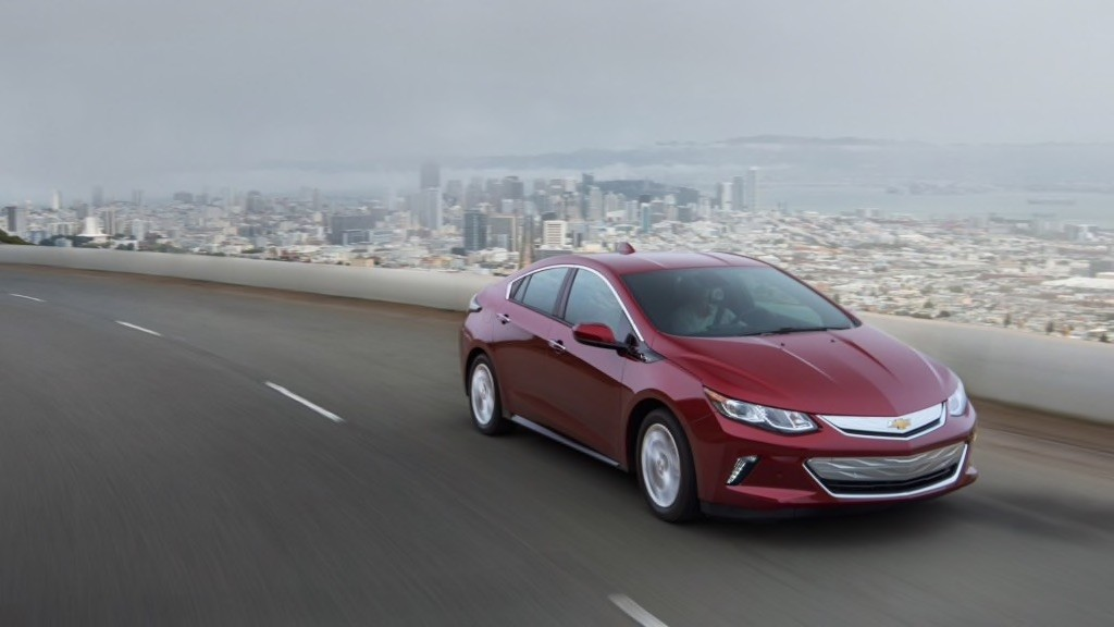 2017 Chevy Volt Front Driving