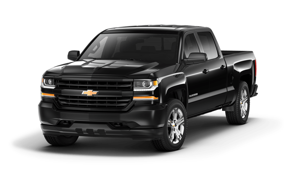 2017 Black Chevy Silverado 1500