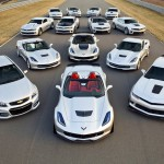 Chevrolet's 14 performance car models ranging from 323 to 625 ho