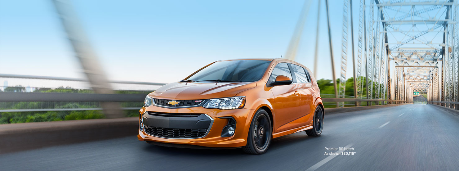 2017 Chevy Sonic Performance