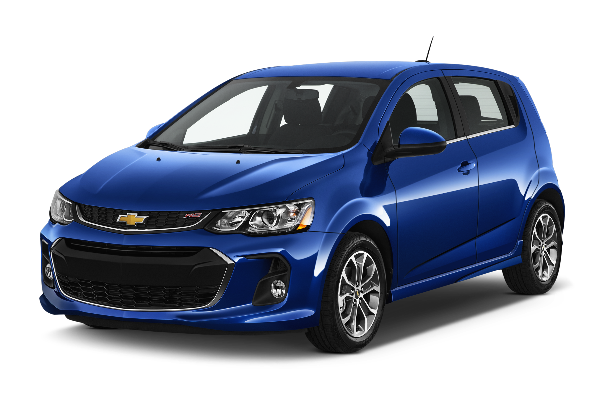 2017 Blue Chevy Sonic
