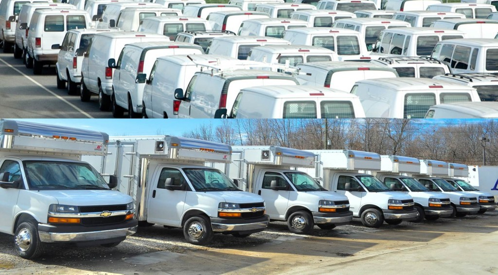commercial truck fleet