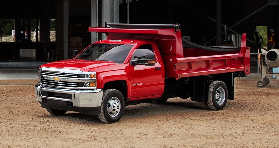 Upfit Your Heavy Duty Hauler Into A Dump Truck Mccluskey Chevrolet