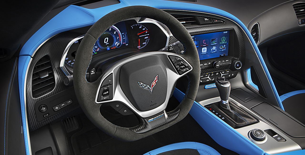2017 Chevy Corvette Technology