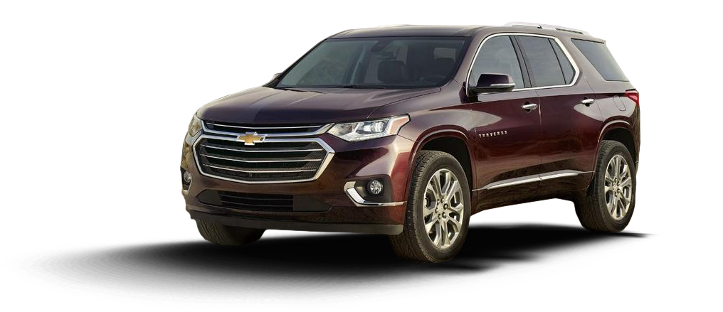 2018 Red Chevy Traverse